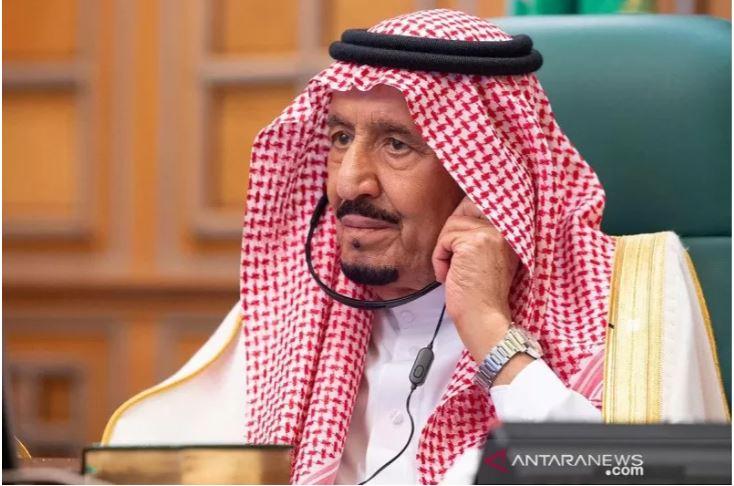 Raja Salman, penguasa Arab Saudi. (Foto: Antara/Bandar Algaloud/Courtesy of Saudi Royal Court/Handout via REUTERS/pras)