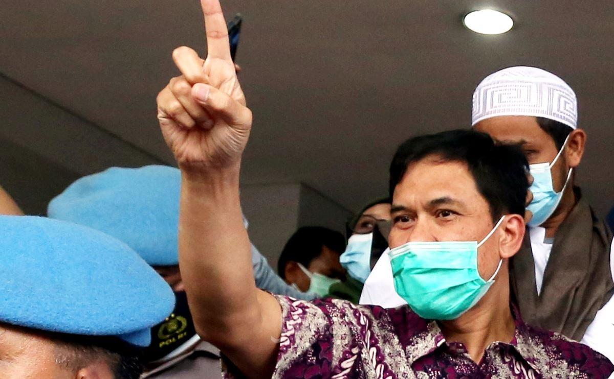 Eks Sekretaris FPI Munarman. (Foto: Ricardo/JPNN)