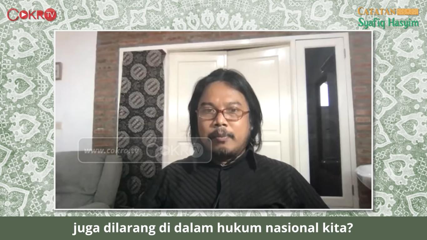 Akademisi NU Komentar Soal Pencabutan Lampiran Miras, Tajam!