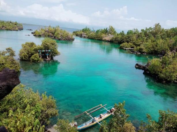 Miniatur Raja Ampat Bernama Tanjung Bongo, Indahnya Bikin Melongo