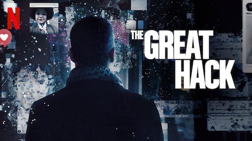 Poster film The Great Hack. Foto: Netflix