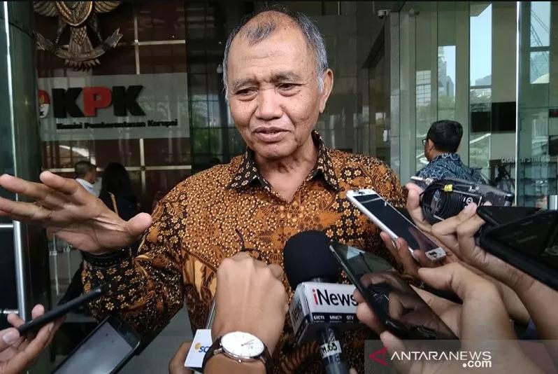 Mantan Ketua Komisi Pemberantasan Korupsi (KPK) Agus Rahardjo. (Foto: Antara)