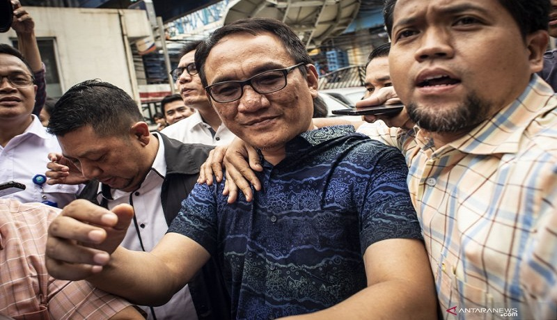 Politikus Demokrat Andi Arief. FOTO: Antara