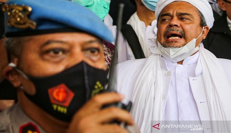 Habib Rizieq Shihab. FOTO: Antara