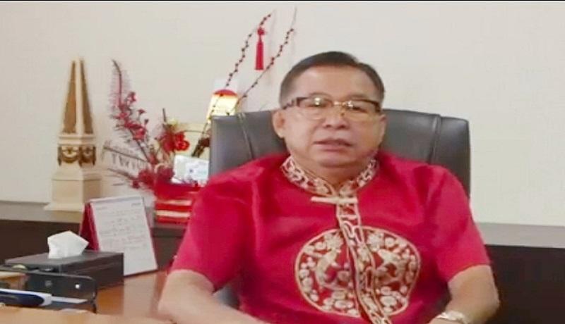 Ketua Panitia Imlek Nasional, G. Sulistiyanto. FOTO: GenPI.co