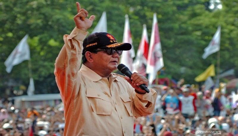 Ketum Gerindra Prabowo Subianto. Foto: Antara