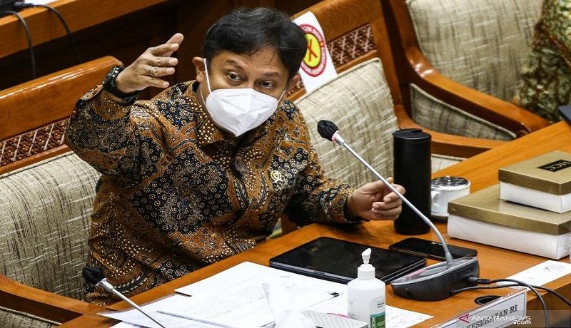 Menteri Kesehatan (Menkes) Budi Gunadi Sadikin. FOTO: Antara