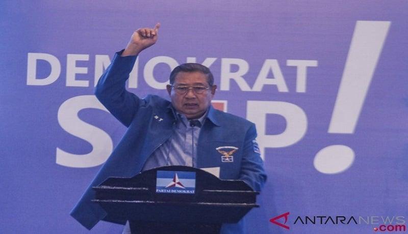 SBY Bersumpah, Siap Jadi Benteng Partai Demokrat