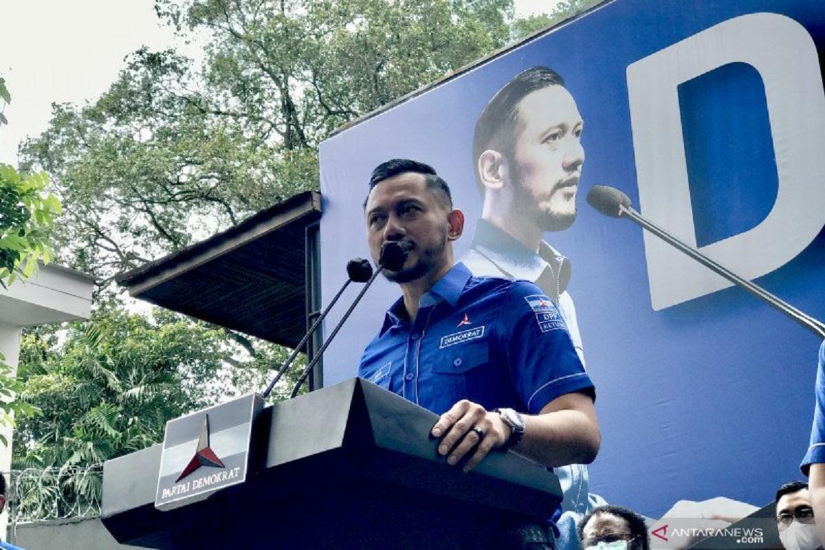 Ketum Demokrat Agus Harimurti Yudhoyono (AHY). Foto: Antara