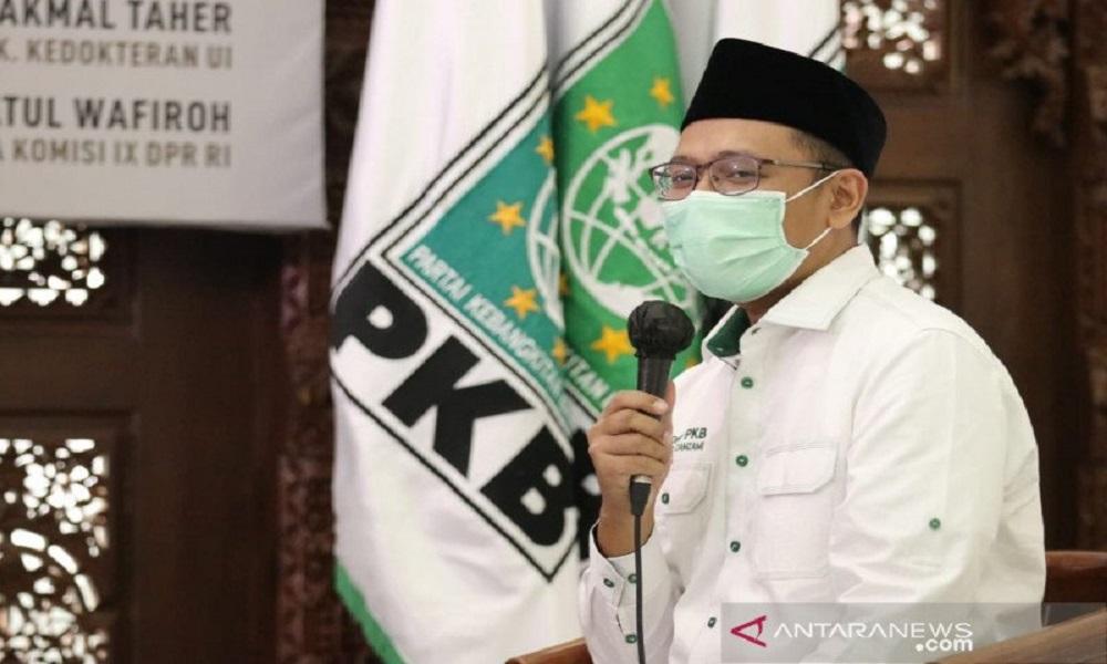 Ketua Umum PKB Abdul Muhaimin Iskandar atau Cak Imin. FOTO: Antara