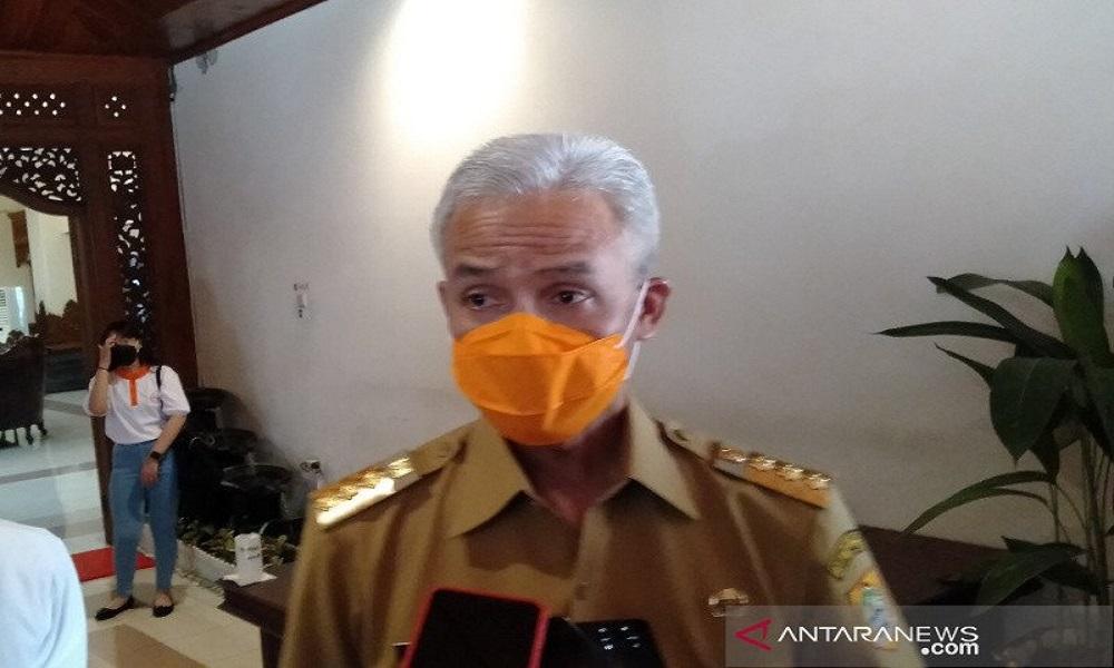 Gubernur Jawa Tengah Ganjar Pranowo. Foto: Antara