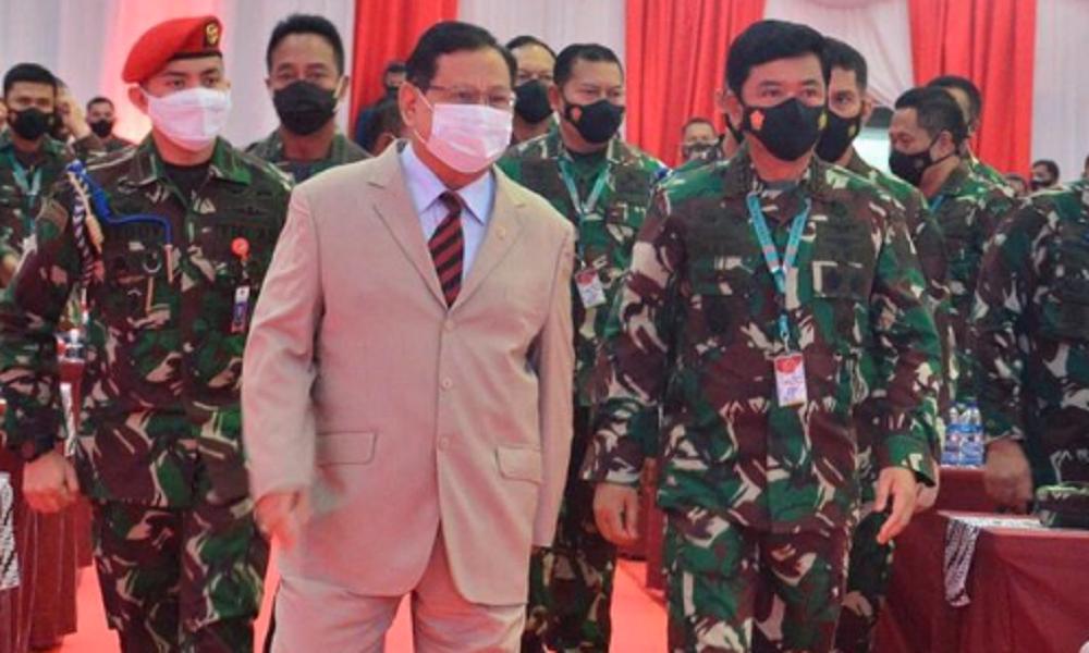 Menteri Pertahanan Prabowo Subianto. (Instagram/prabowosubianto)