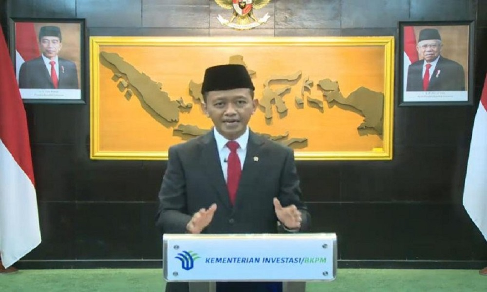 Menteri Investasi Bahlil Lahadalia. FOTO: Antara