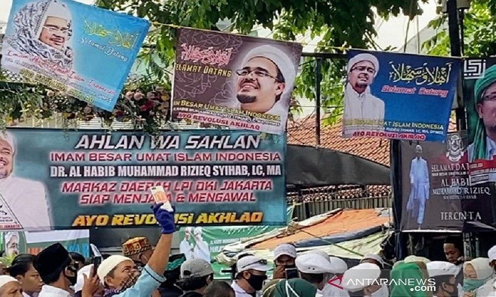 Mantan Kapolres Jakpus Takut Bubarkan Massa Habib Rizieq