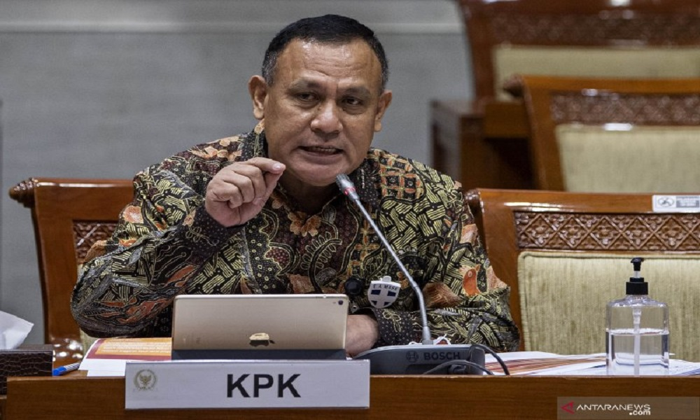 Ketua KPK Firli Bahuri. FOTO: Antara
