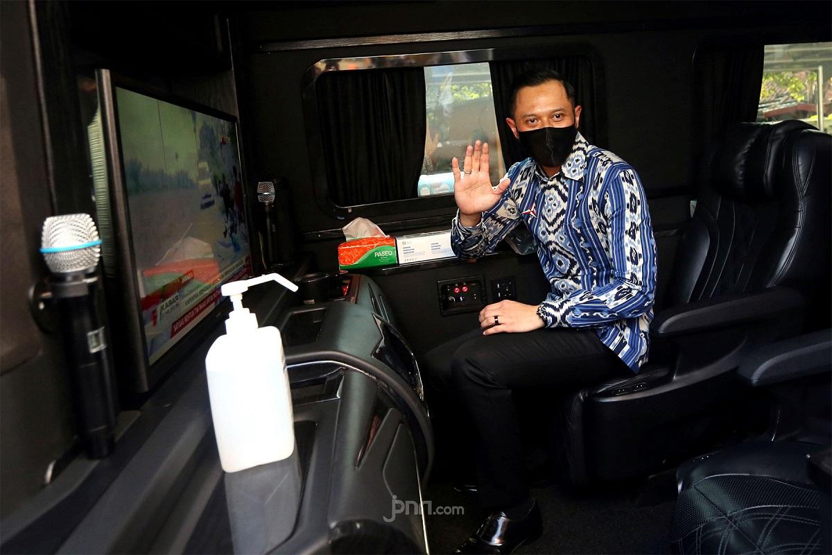 Ketua Umum Partai Demokrat Agus Harimurti Yudhoyono (AHY). FOTO: JPNN