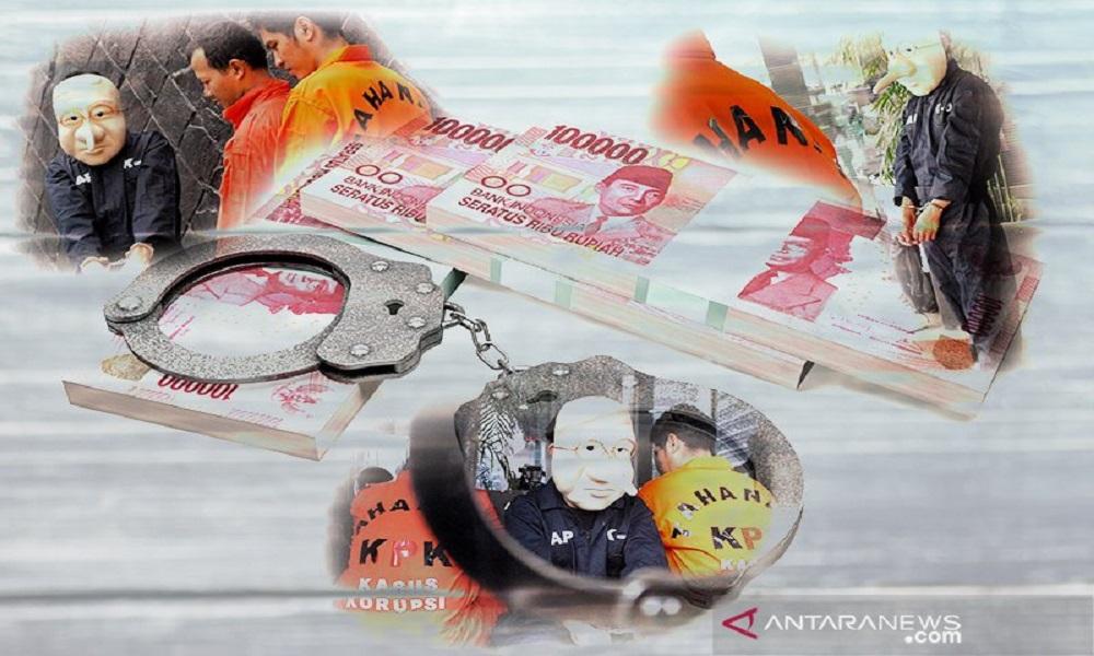 Ilustrasi sarang koruptor. FOTO: Antara