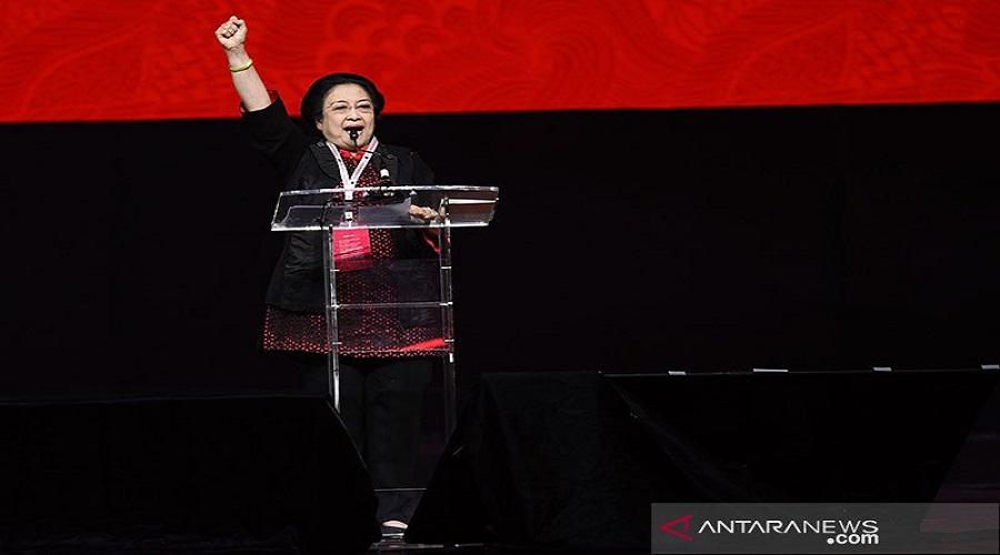Ketum PDIP Megawati Soekarnoputri. Foto: Antara