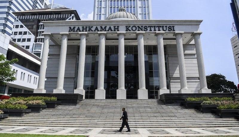 Gedung Mahkamah Konstitusi. FOTO: Antara