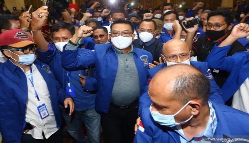 AHY Sukses Salip Prabowo, Demokrat Sindir Moeldoko