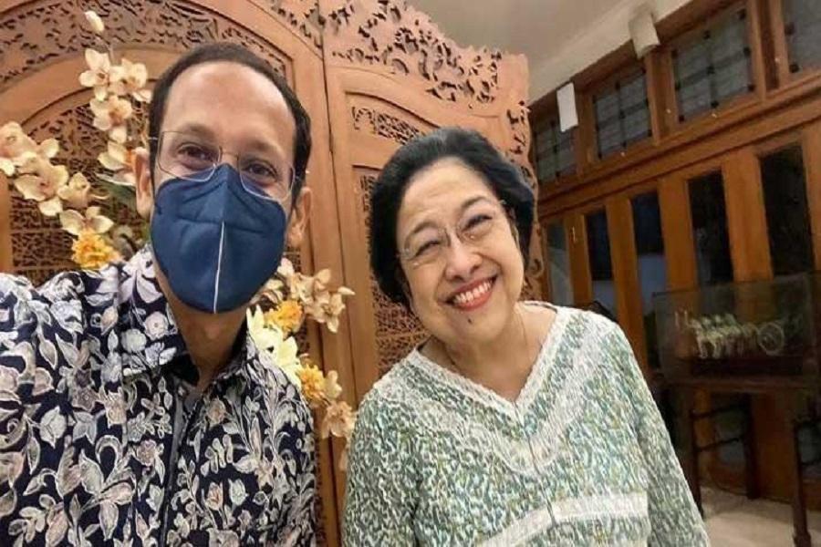 Politikus PDIP Bongkar Pertemuan Nadiem Makarim dan Megawati
