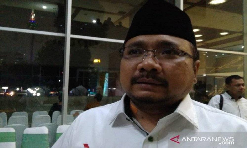 Menteri Agama Yaqut Cholil Quomas atau Gus Yaqut. FOTO: Antara