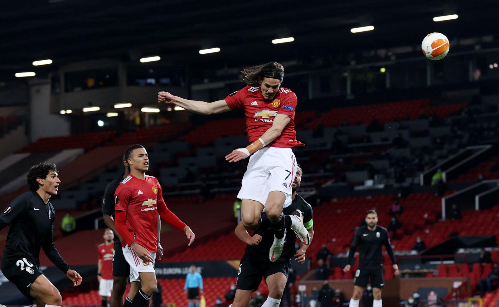 Pertandingan Liga Europa yang mempertemukan AS Roma vs Manchester United dapat disaksikan via link live streaming berikut ini. (foto: REUTERS/David Klein)