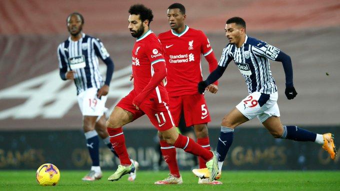 Aksi striker Liverpool, Mohamed Salah. (foto: twitter.com/LFC)