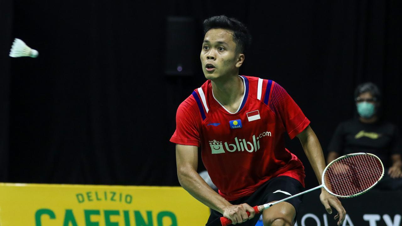 Rekap Hasil Pertandingan Thailand Open: Ginting Tersungkur