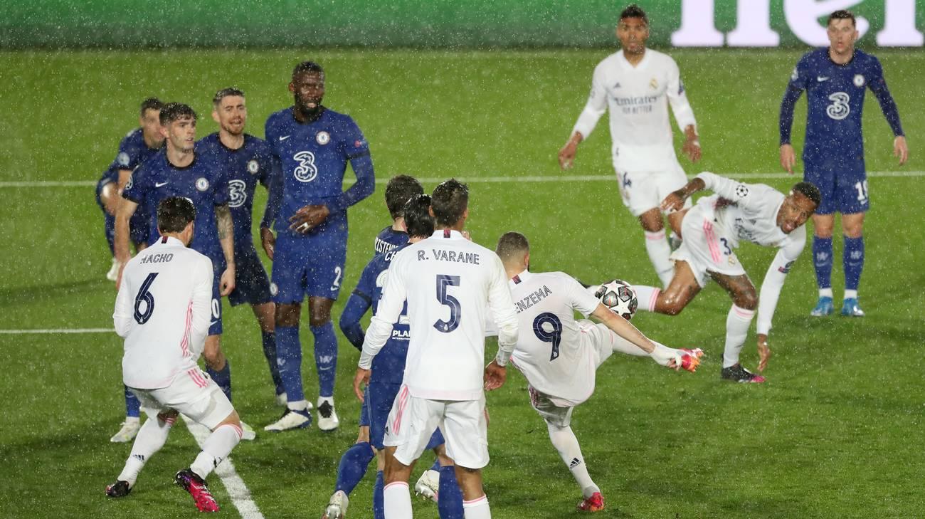 Sudah ditahan imbang oleh Chelsea di kandangnya sendiri, dikabarkan juga bila Real Madrid ternyata dibantu oleh wasit. (foto: Reuters)