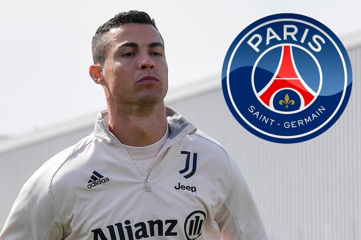 Desas-desus Cristiano Ronaldo akan hengkang dari Juventus telah berhembus sejak lama, dengan PSG sebagai tujuan utamanya. (foto: The Sun)