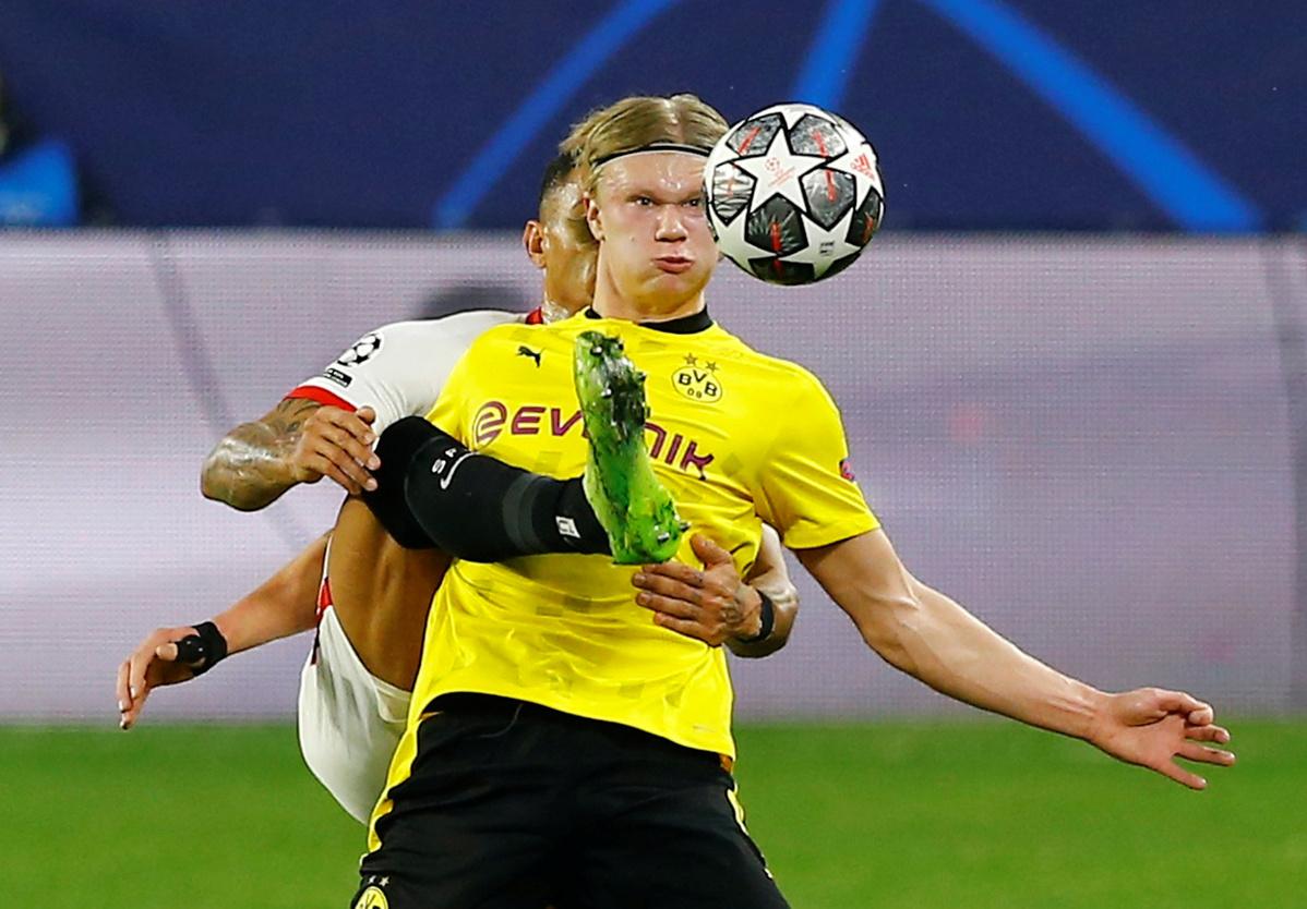 Tensi tinggi diprediksi akan tersaji dalam pertandingan Borussia Dortmund vs Manchester City yang dapat disaksikan via link live streaming. (foto: Reuters)