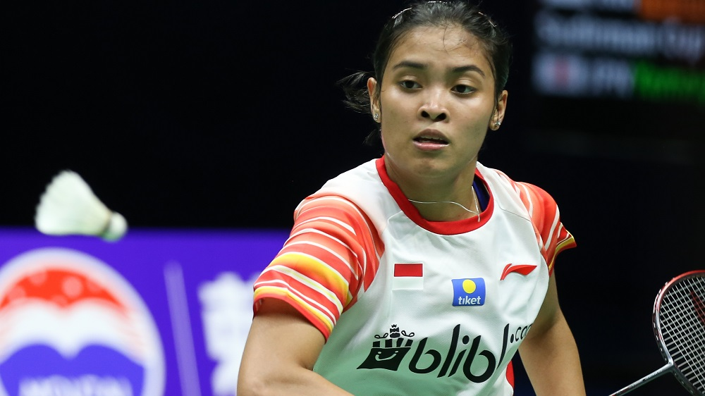 Di tengah kabar buruk ditundanya turnamen Malaysia Open 2021, ternyata ada berkah tersendiri bagi Gregoria Mariska. (foto: bwfbadminton)