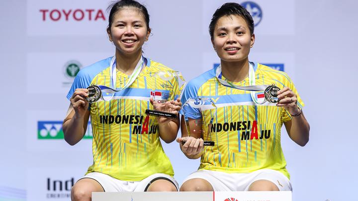 Ngiler! Juara Thailand Open, Greysia/Apriyani Diguyur Rp1 Miliar