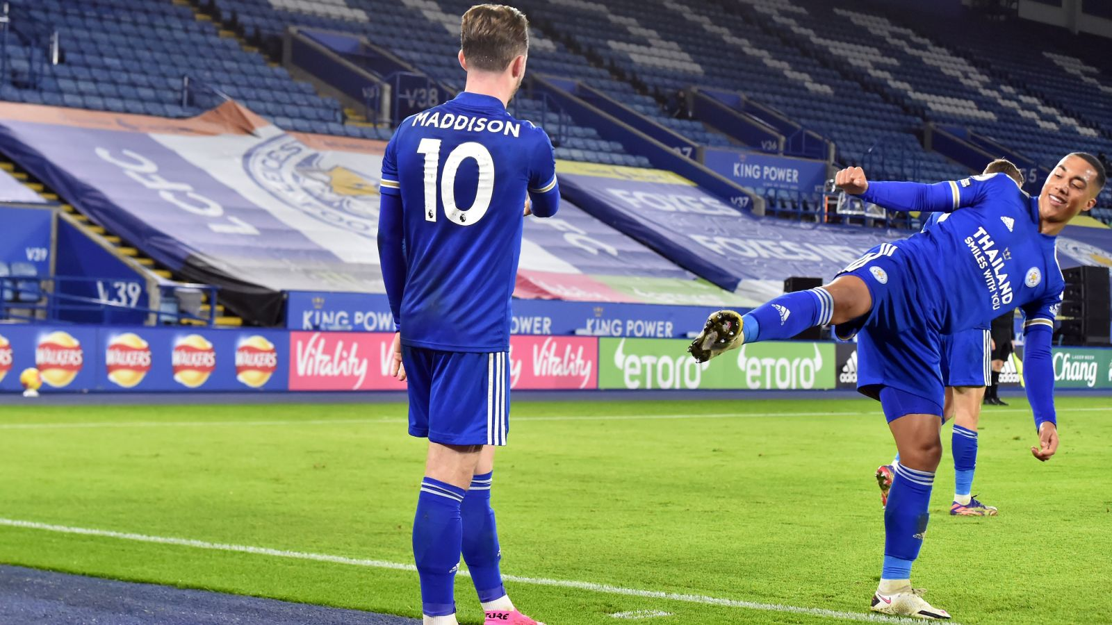 James Maddison, bintang Leicester City. (foto: twitter.com/LCFC)