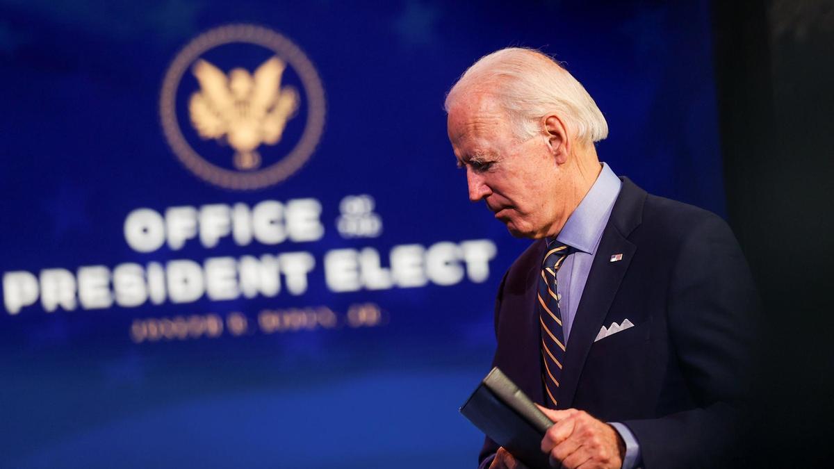 Presiden Amerika Serikat, Joe Biden, ngamuk saat mengetahui ada polisi yang tidak sengaja menembak warga kulit hitam. (foto: Reuters)
