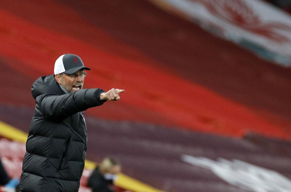 Pertandingan Liga Primer Inggris yang mempertemukan West Brom vs Liverpool dapat disaksikan via link live streaming berikut ini. (foto: Reuters/Phil Noble)