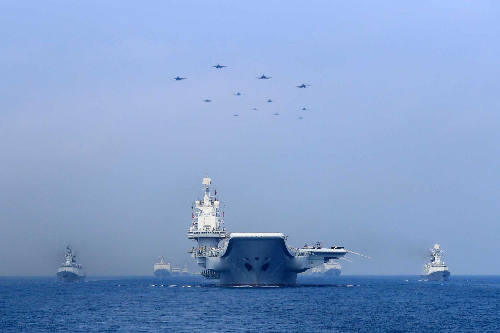 China telah menabuhkan genderang perang, yang mana bisa membuat Taiwan langsung naik pitam dibuatnya. (foto: Reuters/Stringer)