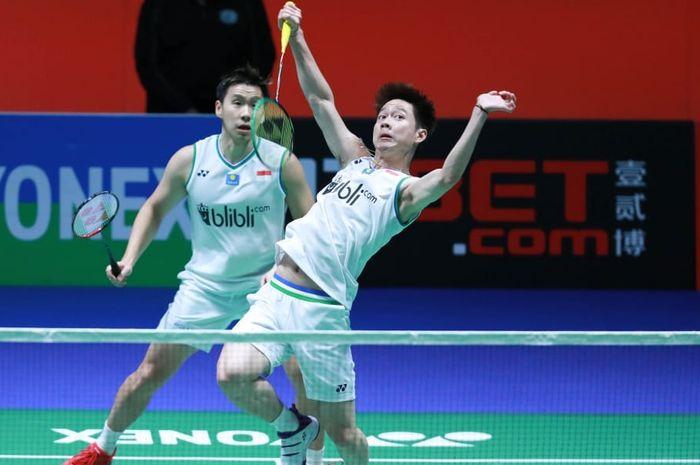 Remehkan Indonesia, BWF Tak Jagokan Kevin/Marcus Juara Olimpiade
