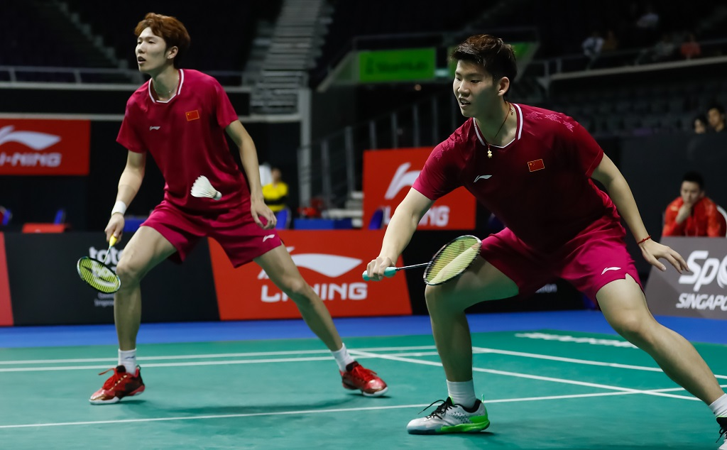 Li Junhui/Liu Yuchen, satu-satunya ganda putra China di Olimpiade Tokyo.(foto: bwfbadminton)