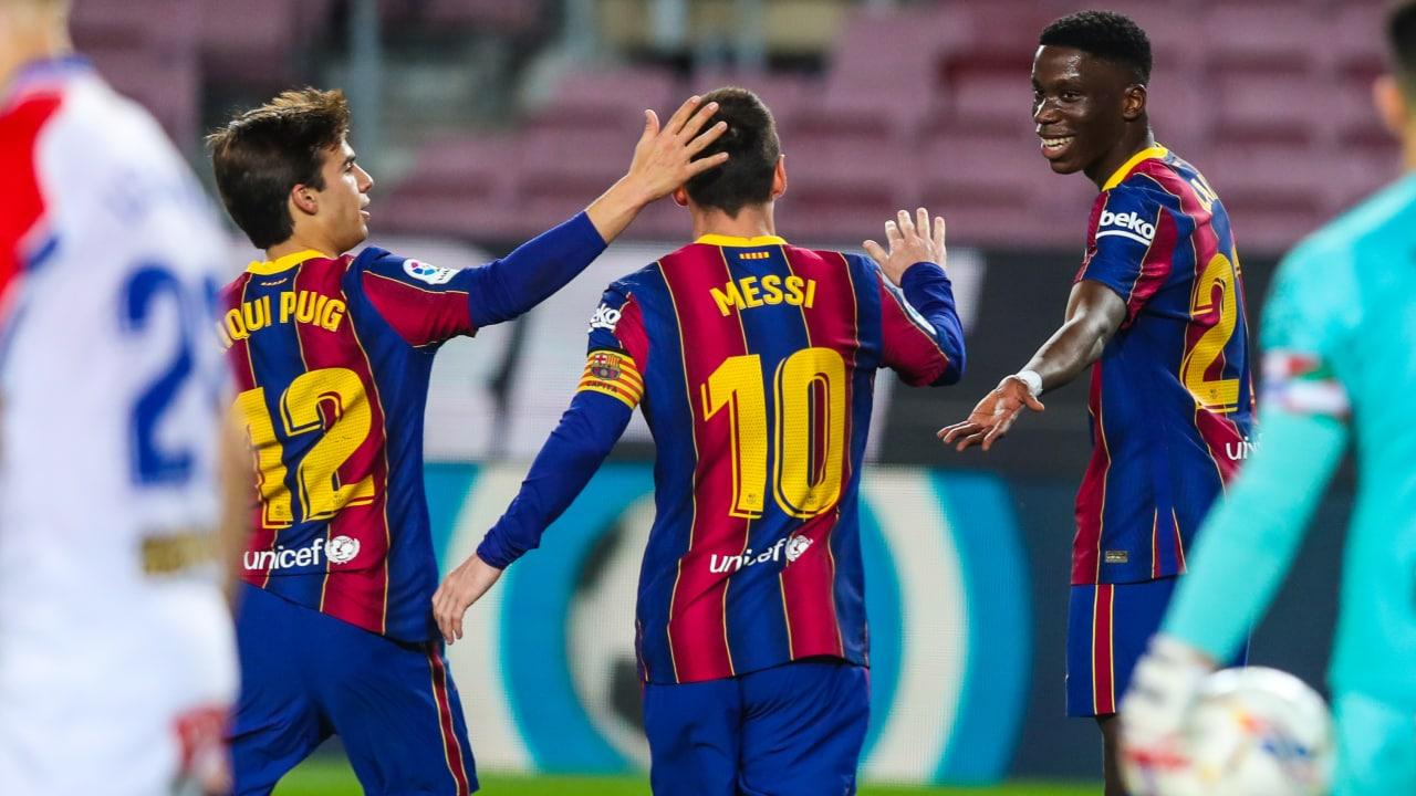 Jadwal Liga Spanyol Akhir Pekan Ini: Barcelona vs Cadiz. (foto: twitter.com/FCBarcelona)