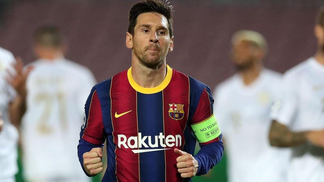 Lionel Messi, megabintang Barcelona. (foto: twitter.com/FCBarcelona)