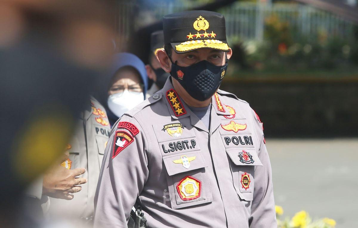 Nasib status Listyo Sigit Prabowo akan segera ditentukan dalam waktu dekat, siap-siap saja bila terjadi perubahan. (foto: Ricardo/JPNN)