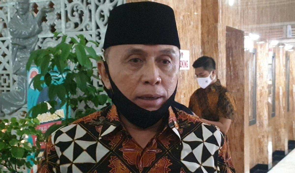 Ketua Umum PSSI, Mochamad Iriawan, memberikan pernyataan telak yang bisa membuat karier Mochamad Yudha Febrian di Timnas Indonesia tamat. (foto: Amjad/JPNN)