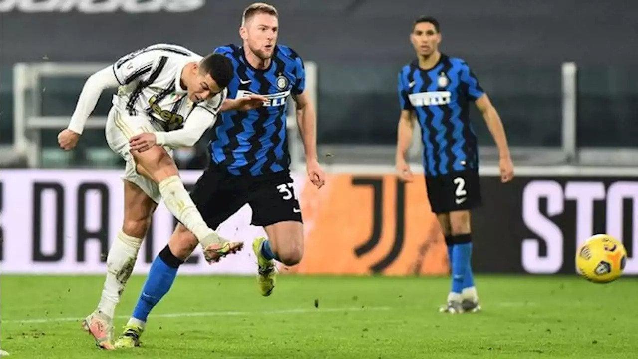 Pertandingan Serie A Italia yang mempertemukan Juventus vs Inter Milan dapat disaksikan via link live streaming. (foto: Reuters)