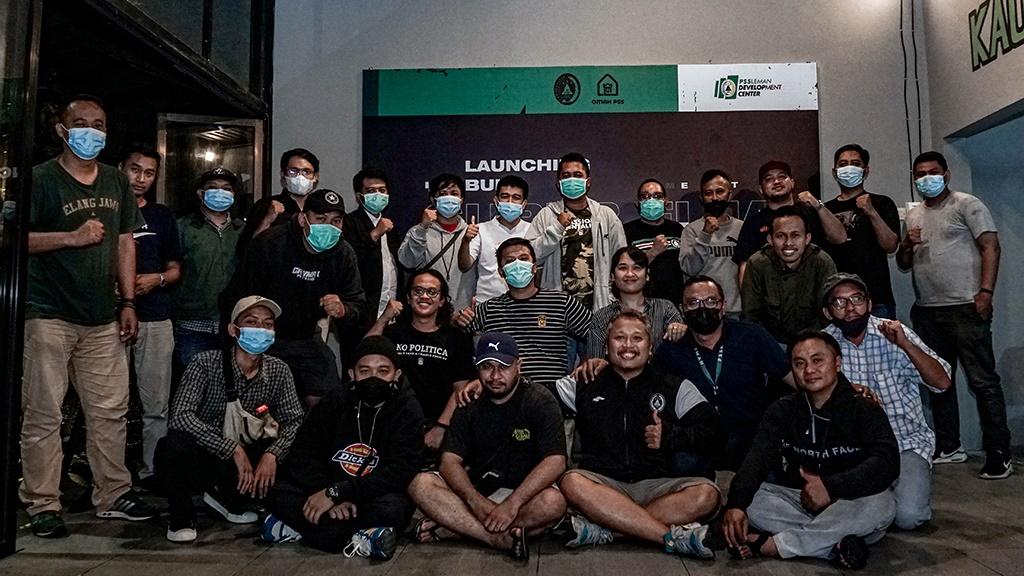 Para fans PSS Sleman, Brigata Curva Sud (BCS). (foto: Liga-Indonesia)