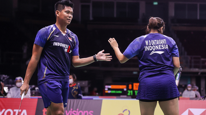 Hasil Pertandingan Thailand Open 2021: Praveen/Melati Runner-up