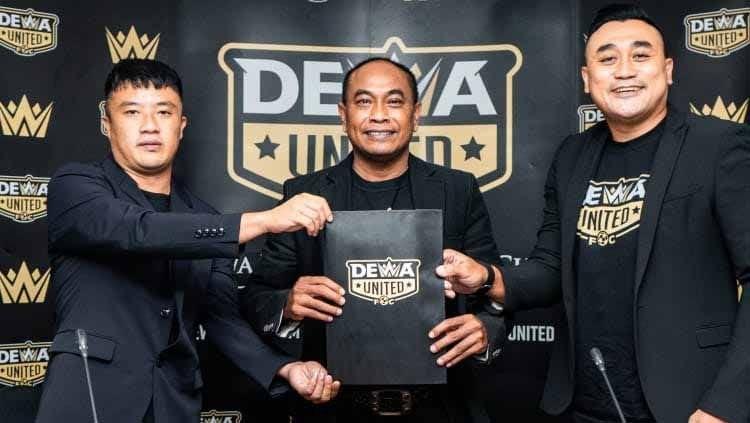 Pemilik Dewa United, Tommy Hermawan Lo memiliki harapan tinggi pada klub-klub yang telah diakuisisinya untuk bisa berprestasi di kancah internasional. (foto: Dewa United)