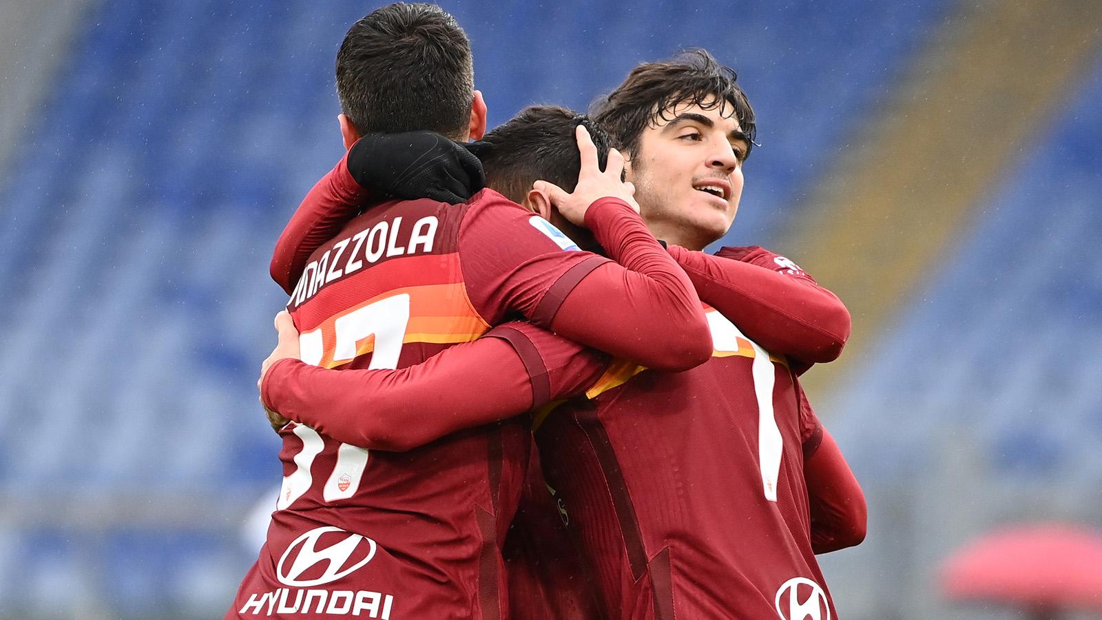 Live Streaming Liga Europa: AS Roma vs Braga. (foto: twitter.com/ASRomaEN)