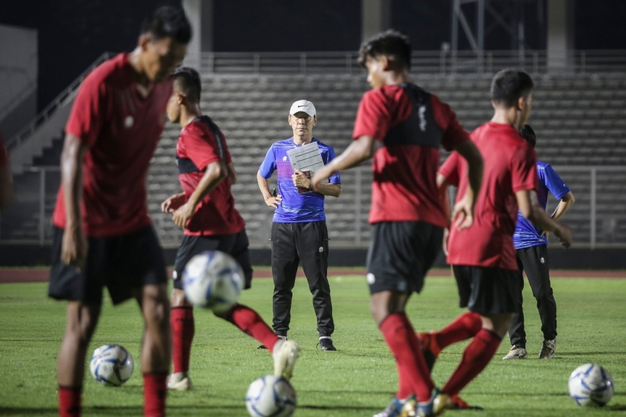 Makin Sangar, Shin Tae-yong Ingin Timnas Mengamuk di Piala Dunia